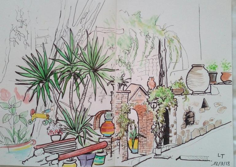Amorgos, hotel Pagali à Langada