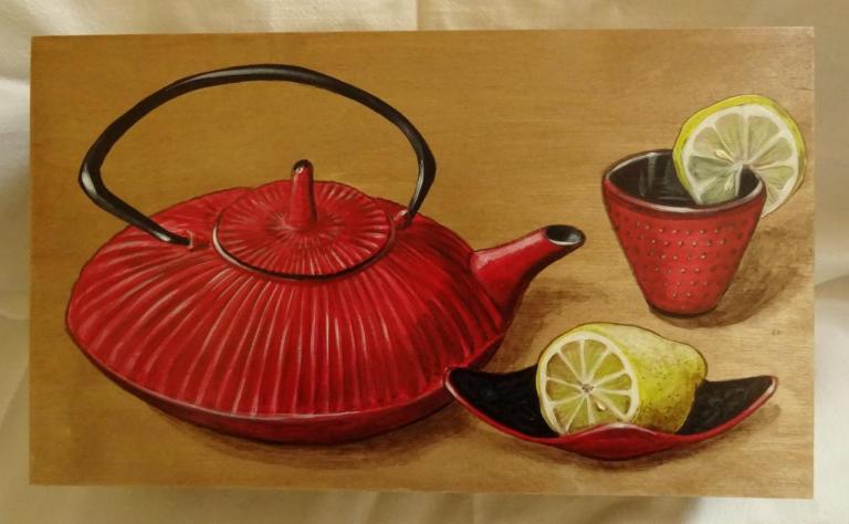 boite à thé citron