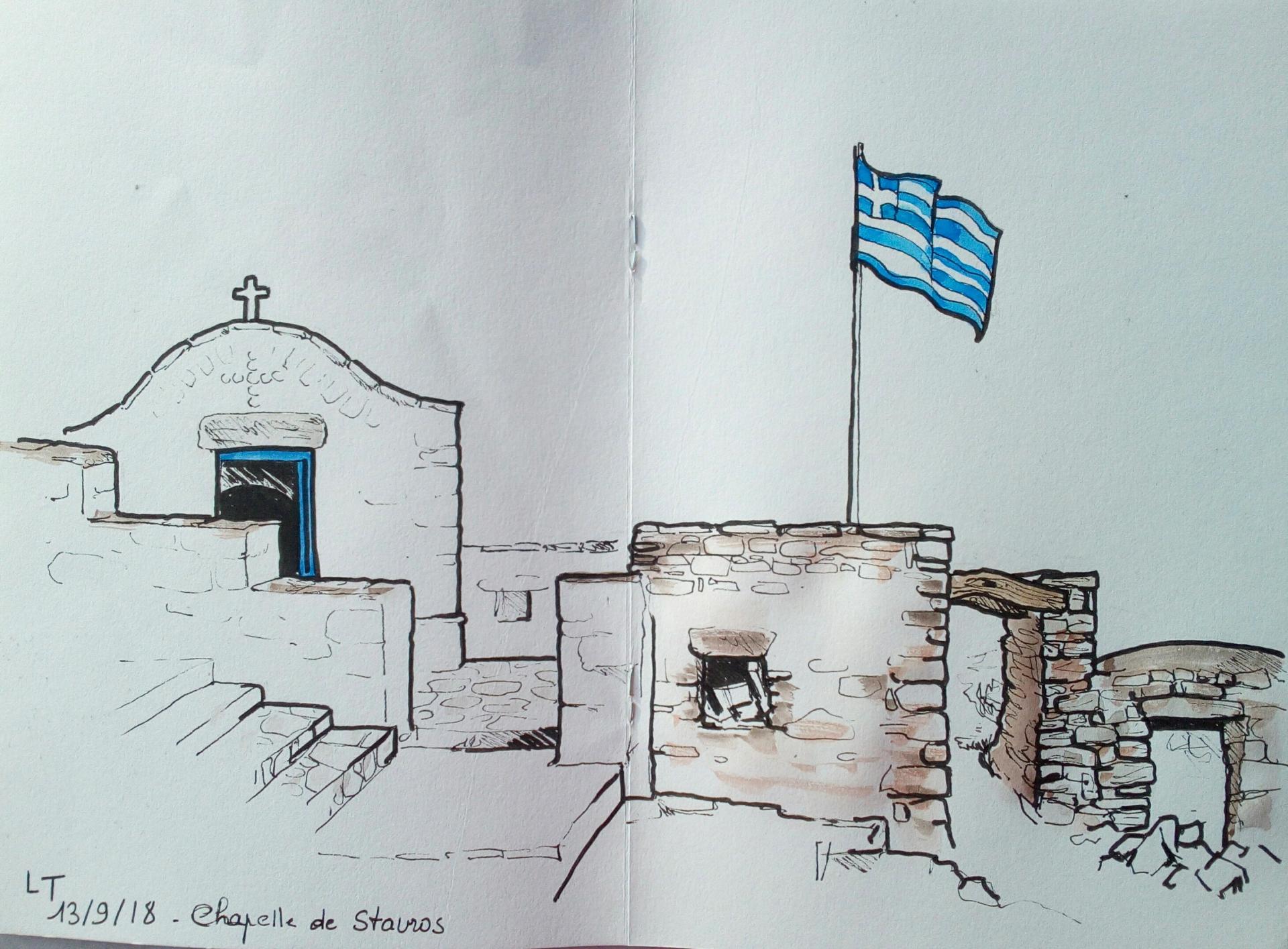 Amorgos,chapelle de Stavros