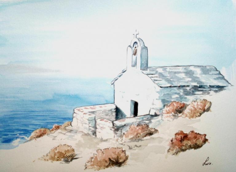 Amorgos, chapelle