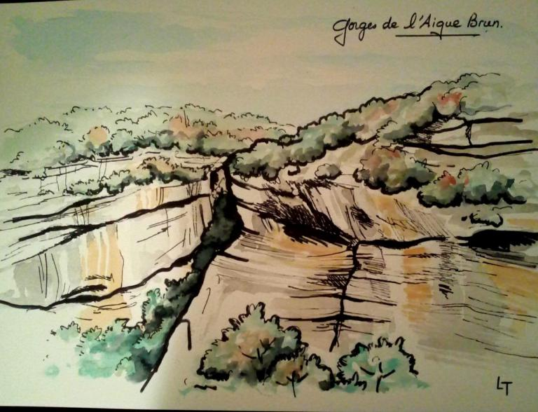 Gorges Aigues Brun