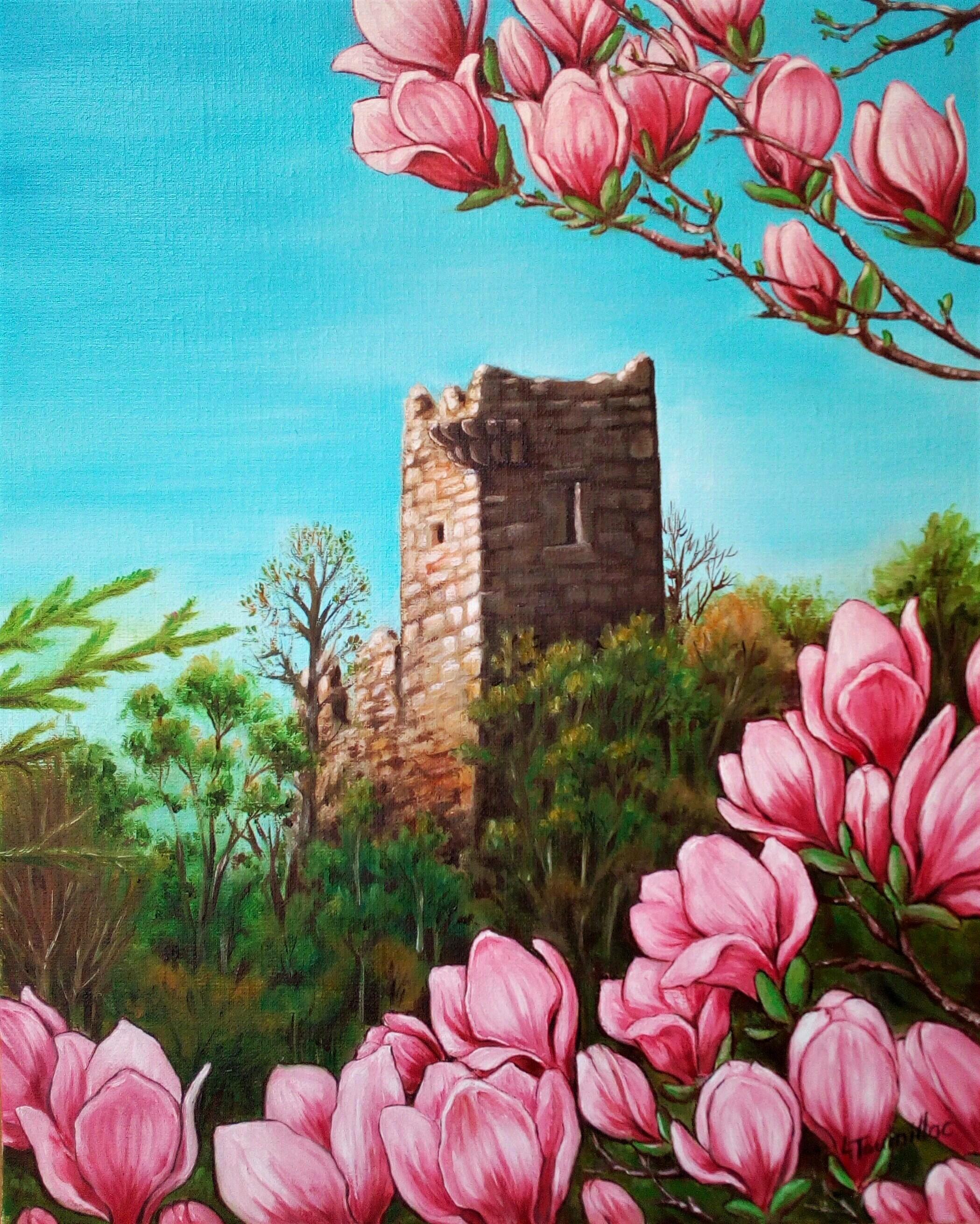La tour aux magnolias