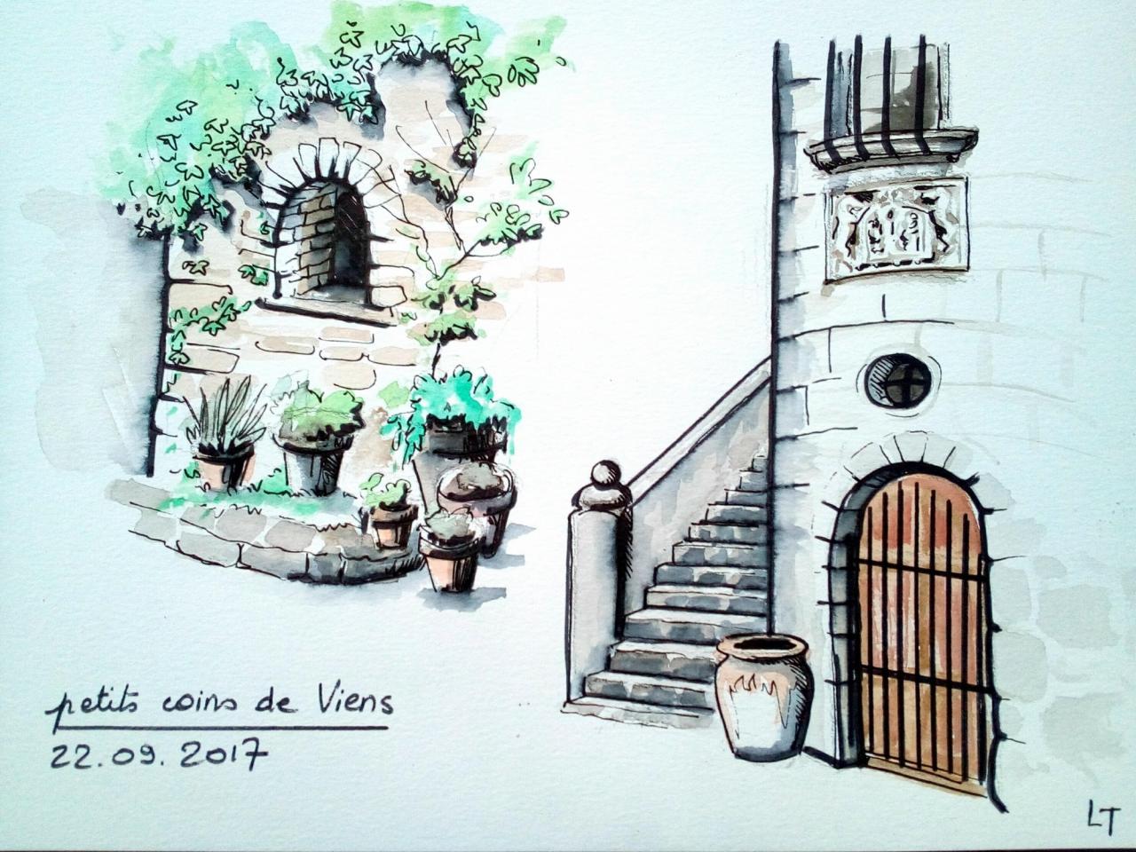 Le village de Viens