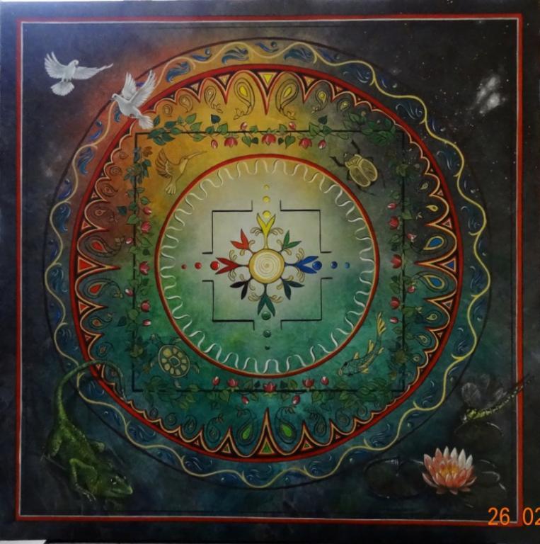 Mandala Les 4 Eléments - Privé