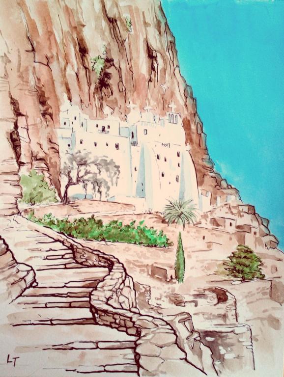 Amorgos, le monastère