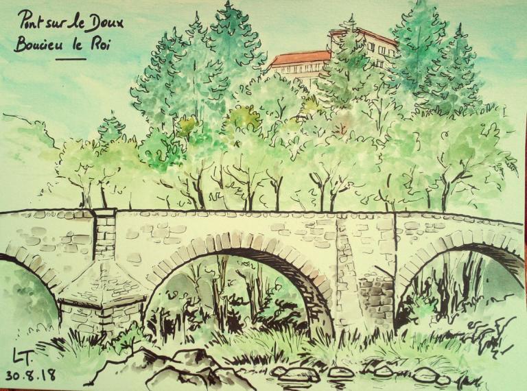 Pont sur le Doux Boucieu le Roi