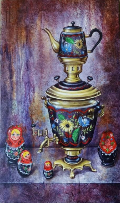 Samovar  Et Matriochkas