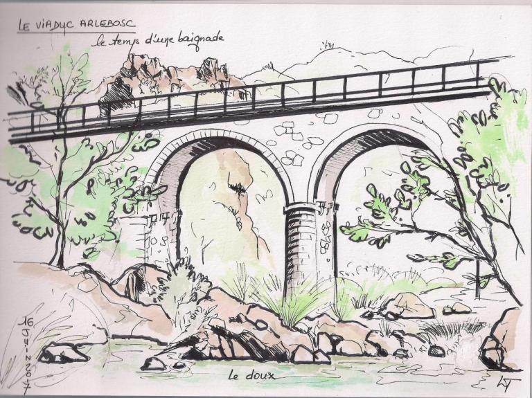 Viaduc d' Arlebosc