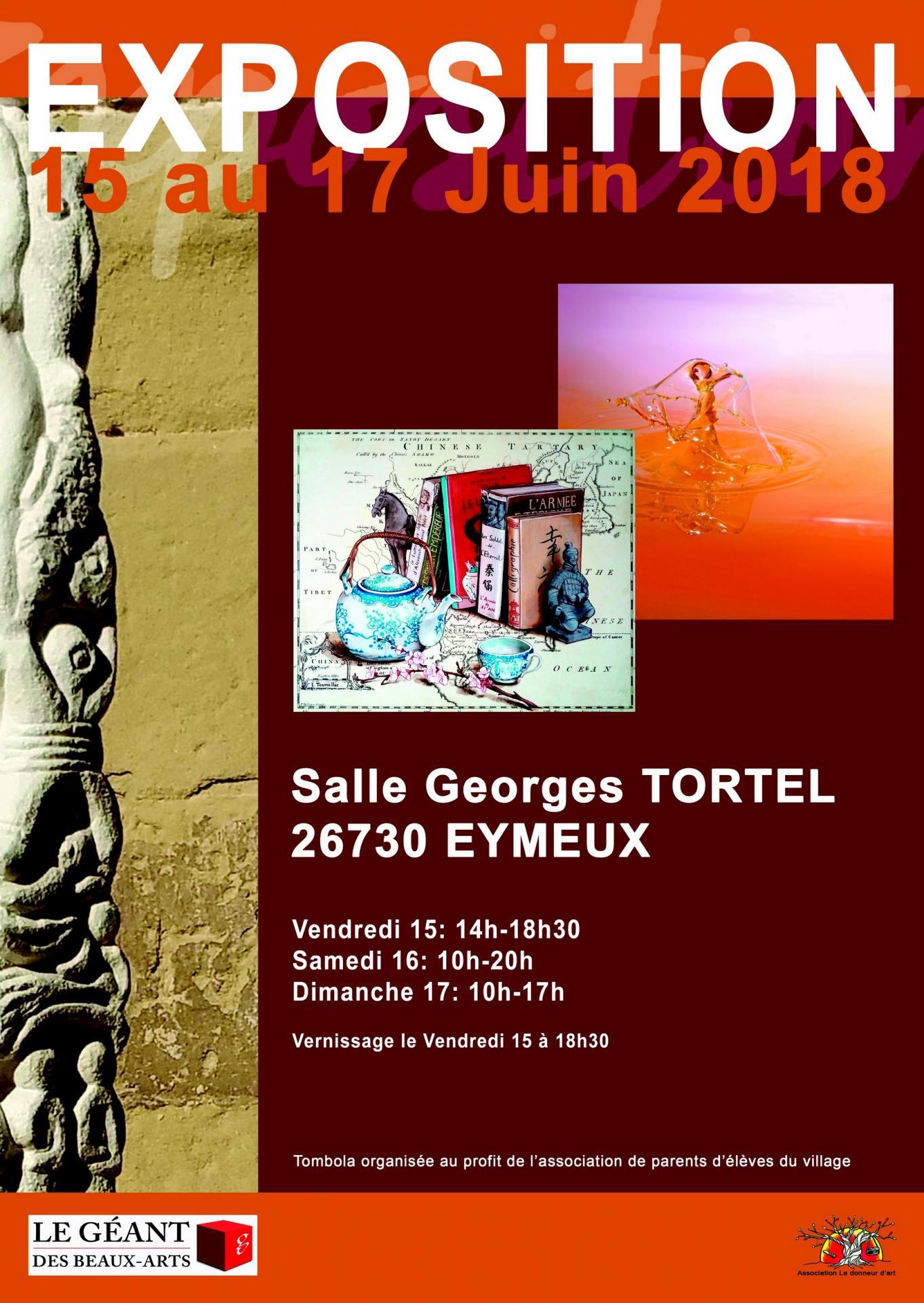 Affiche exposition Eymeux